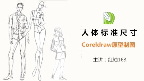 【电脑制图】人体标准尺寸原型制图
